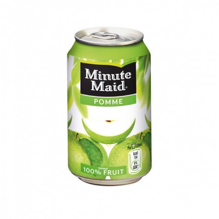33 CL MINUTE MAID POMME