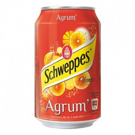 33 CL SCHWEPPES AGRUMES