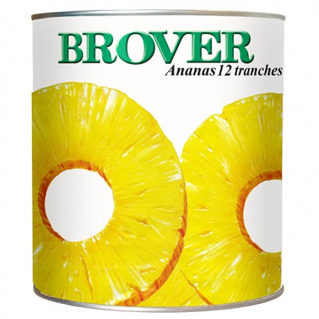 ANANAS 12 TRANCHES  BROUSSE