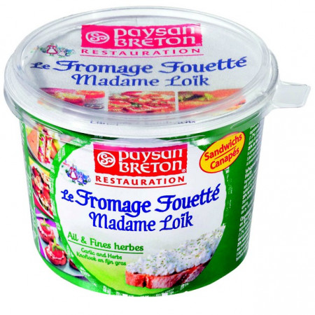 FROMAGE FOUETTÉ AIL & FINES HERBES