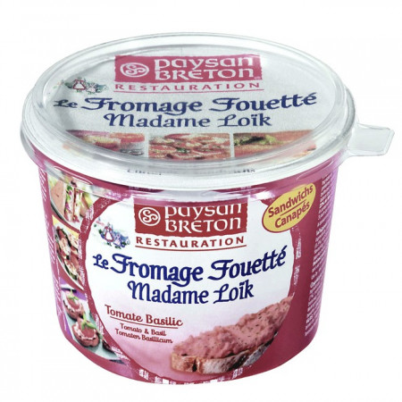 FROMAGE FOUETTÉ TOMATE BASILIC