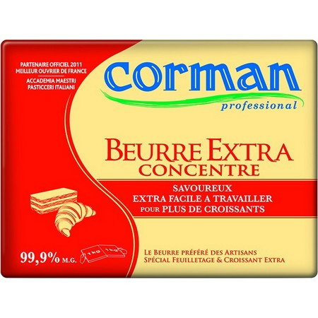 BEURRE EXTRA ROUGE 99,9% CORMAN
