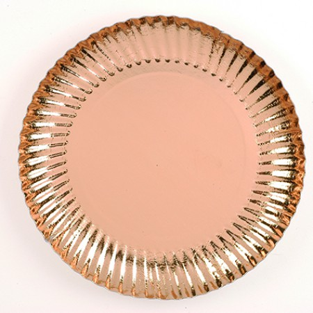 ASSIETTES METAL OR 97 MM NORDIA